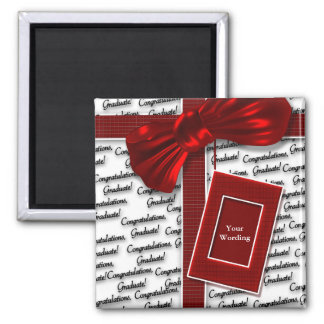 Graduation gifts for men & women 2 inch square magnet