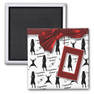 Graduation gifts for women 2 inch square magnet