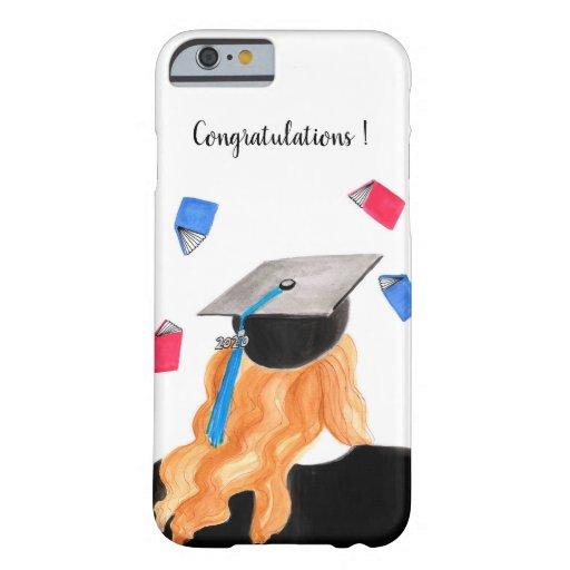 Graduation Girl IPhone Case