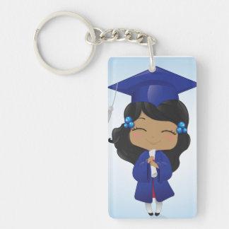 Graduation Girl Keychain