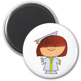 Graduation Girl Magnet