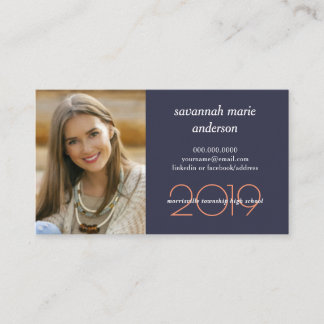Business cards business card printing zazzle graduation name cards modern class of year reheart Choice Image