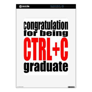 graduation graduate cope school teenager homework decals for the iPad