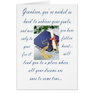 Graduation-Grandson, Happy Graduation Card