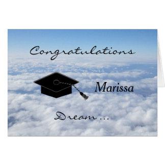 Graduation Greeting Card Dream