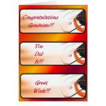 Graduation Greeting Card-Red