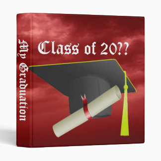 Graduation Group Class of 20?? Black Cap Binder