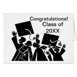 Graduation Group Class of 20XX Card