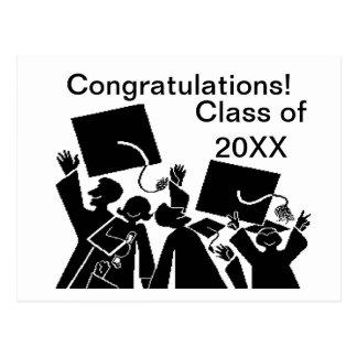 Graduation Group Class of 20XX Postcard