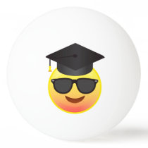 Graduation Happy Emoji with Sunglasses Ball