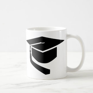 Graduation hat coffee mug