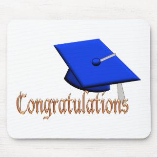 Graduation Hat Congratulations fun Graduate gift Mouse Pads