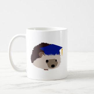 Graduation Hedgehog Mug - Blue