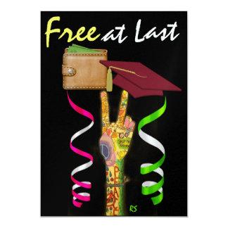 Graduation Humor -  SRF 5x7 Paper Invitation Card