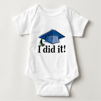 Graduation I Did It! Baby Bodysuit
