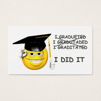 Graduation (  I DID IT ) Business Card
