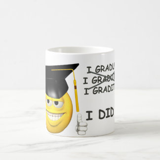 Graduation (  I DID IT ) Classic White Coffee Mug