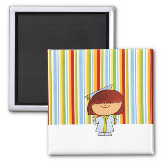 Graduation Imagination Colors Magnet