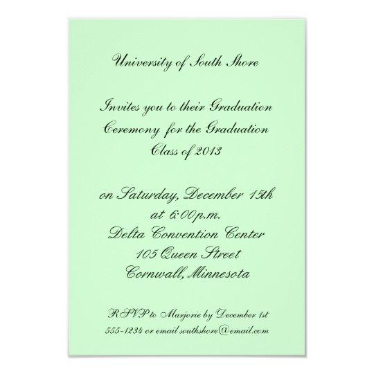 Graduation Invitation for 2013