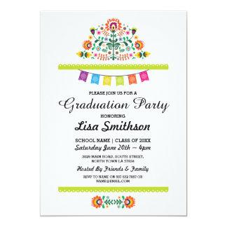 Graduation Invitation Party Fiesta Mexican Invite