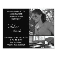 Pie invitations zazzle graduation invitations cheap customizable photo filmwisefo