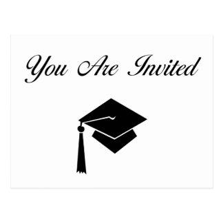Graduation Invitations Postcard
