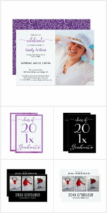 Graduation Invitations–Thank You Cards–Guestbooks