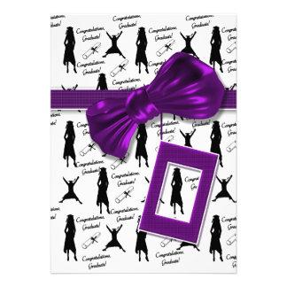 Graduation invitations - womens graduate party