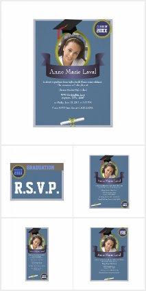 Graduation Invites, RSVP cards