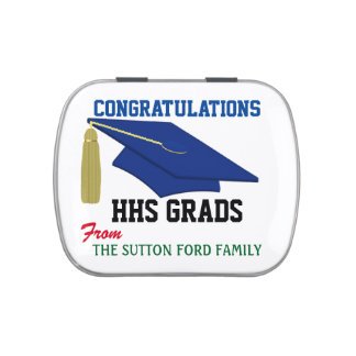 Graduation - Jelly Beans - SRF Jelly Belly Candy Tins