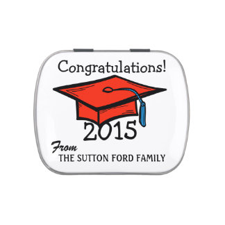 Graduation - Jelly Beans - SRF Jelly Belly Candy Tin