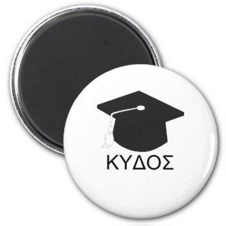 Graduation kudos-B.A. 2 Inch Round Magnet