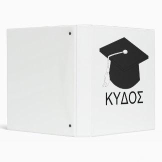 Graduation kudos-B.A. 3 Ring Binder