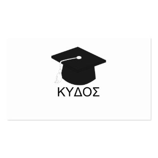 Graduation kudos-B.A. Business Card