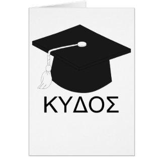 Graduation kudos-B.A. Card