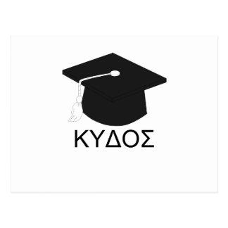 Graduation kudos-B.A. Postcard