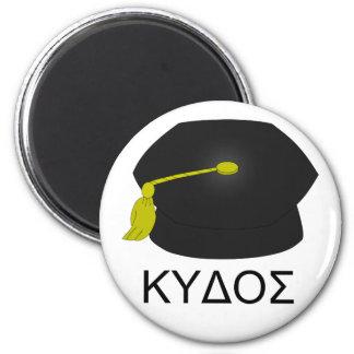 Graduation kudos-Ph.D. 2 Inch Round Magnet
