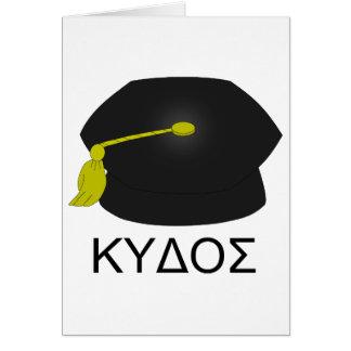Graduation kudos-Ph.D. Card