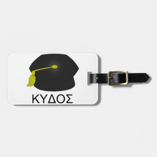 Graduation kudos-Ph.D. Luggage Tag