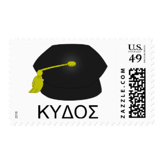 Graduation kudos-Ph.D. Postage Stamp