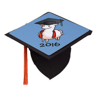 Graduation Llama Graduation Cap Topper