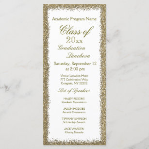 Graduation Luncheon Invitation