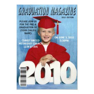 Graduation magazine announcements