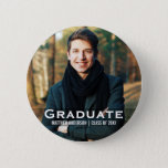 "Graduation Modern Photo Button<br><div class=""desc"">Graduation Modern Photo Button</div>"