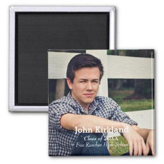 Graduation Modern Photo Flexible Magnet