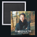 "Graduation Modern Photo Magnet Sq<br><div class=""desc"">Graduation Modern Photo Magnet Square</div>"