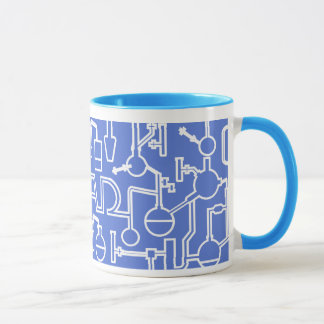 Graduation Mug Science Lab blue
