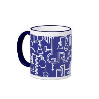 Graduation Mug Science Lab kobalt blue