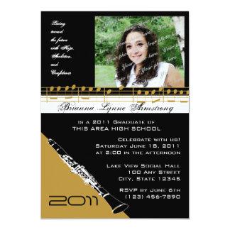 Graduation Music/ Clarinet Card