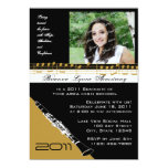 Graduation Music/ Clarinet Personalized Announcement